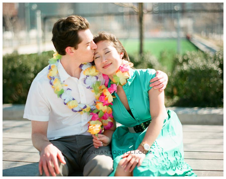 Hawaiian Inspired Engagement Session
