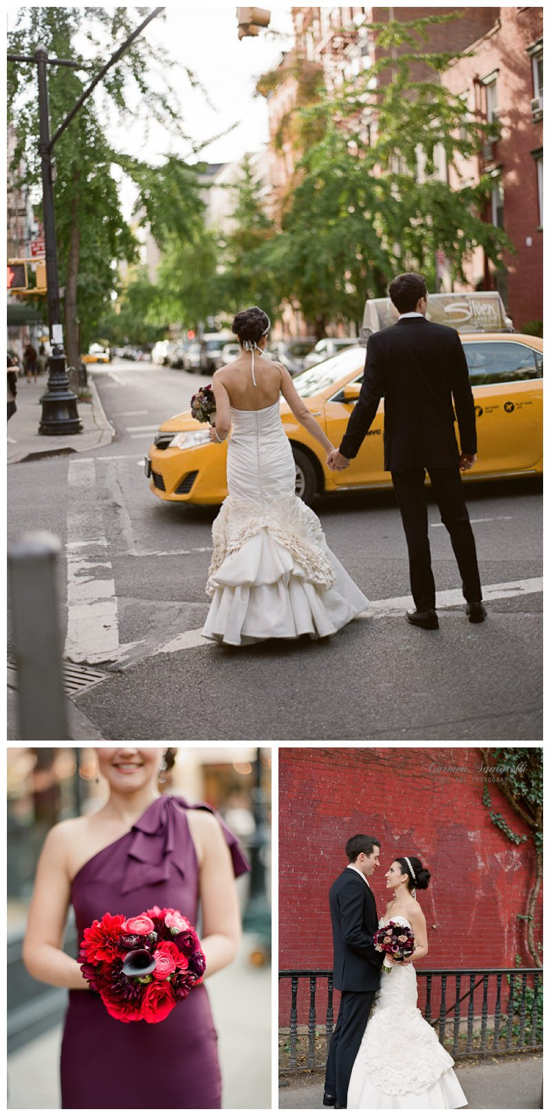 West Village Bride and Groom Pictures