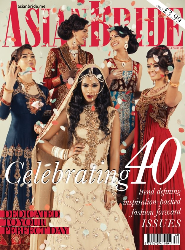 Carmen Santorelli featured in Asian Bride Magazine