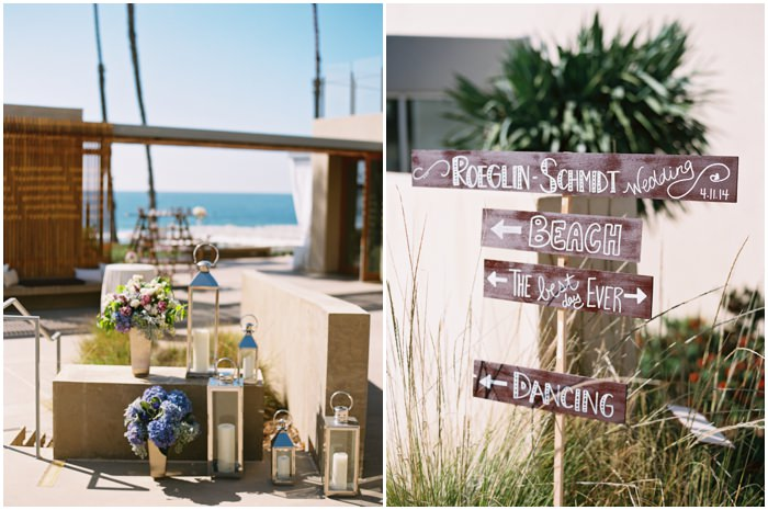 Beach Wedding La Jolla California