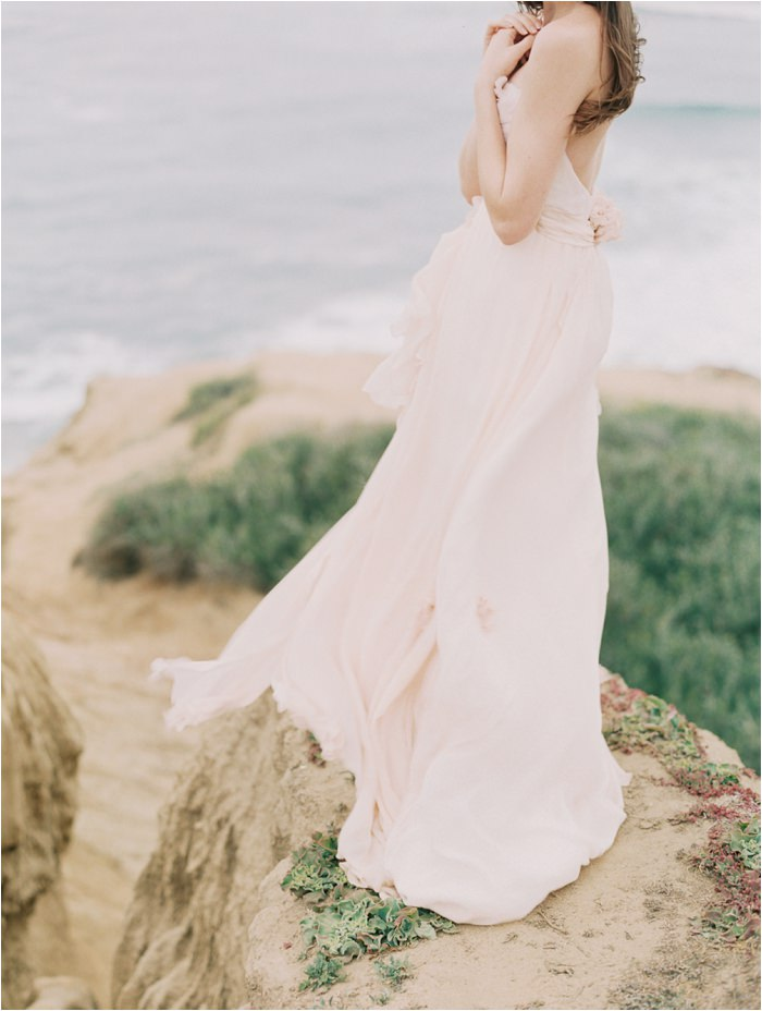 Sunset Cliffs Ballerina Wedding
