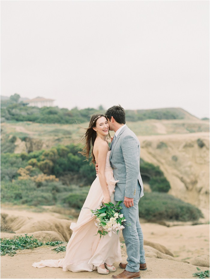 san diego cliff wedding
