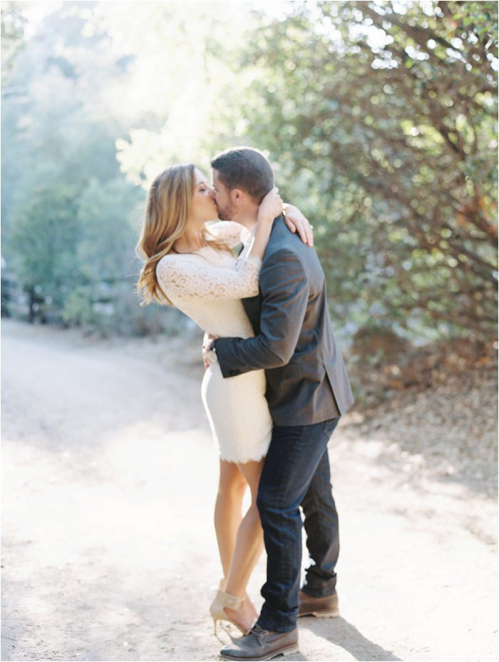 oak canyon engagement session