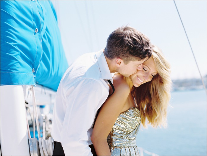 sailboat engagement session point loma
