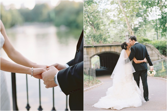 central park boathouse wedding pictures