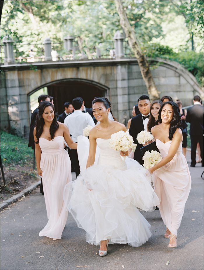 nyc wedding in central park
